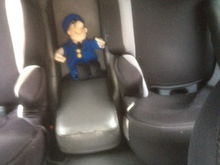 Rear leathers seats finally fitted to focus MK 1estate