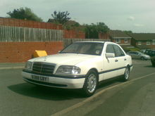Garage - Baby merc / car no. 3