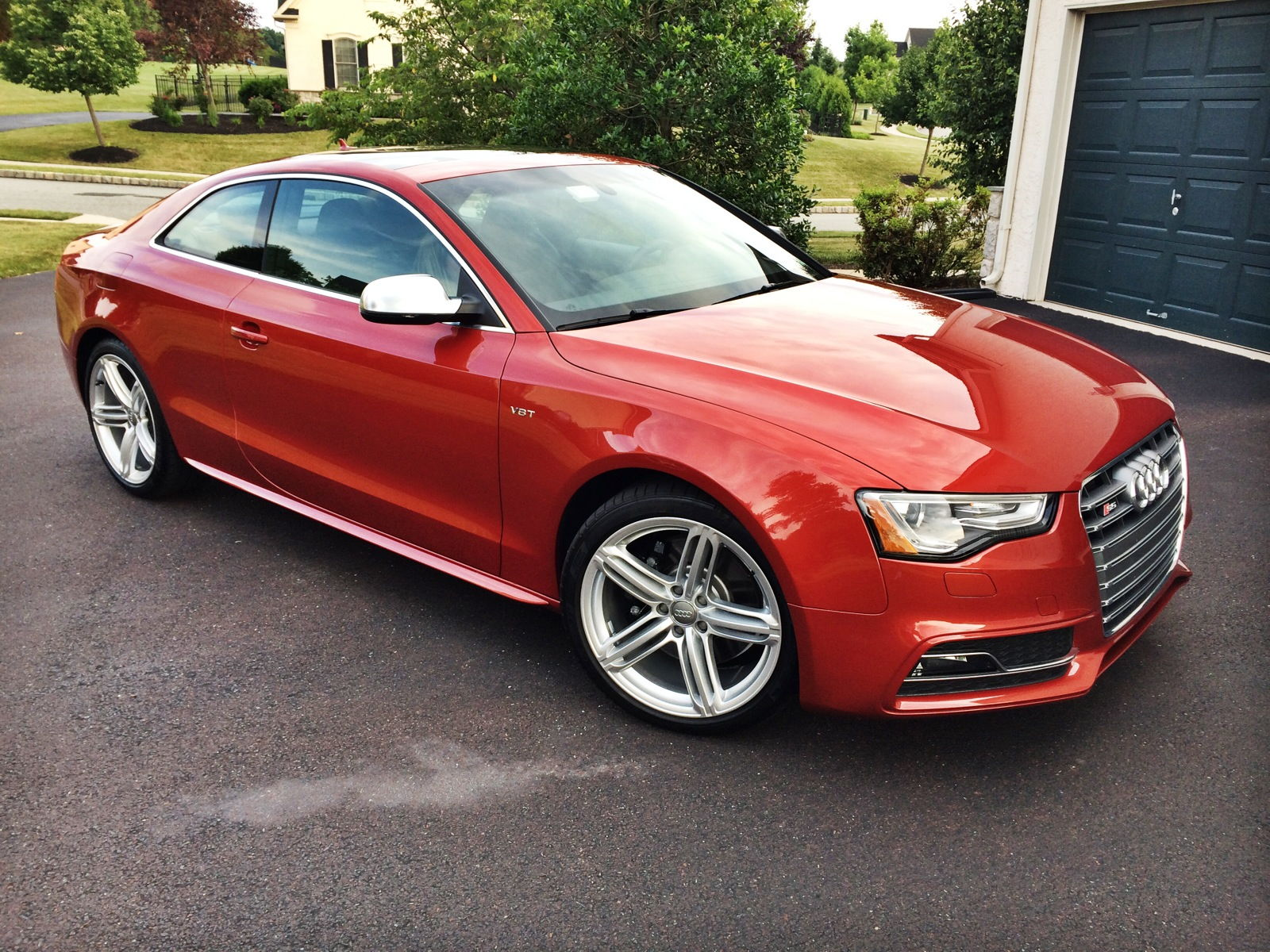 New Volcano Red S5 Audiworld Forums
