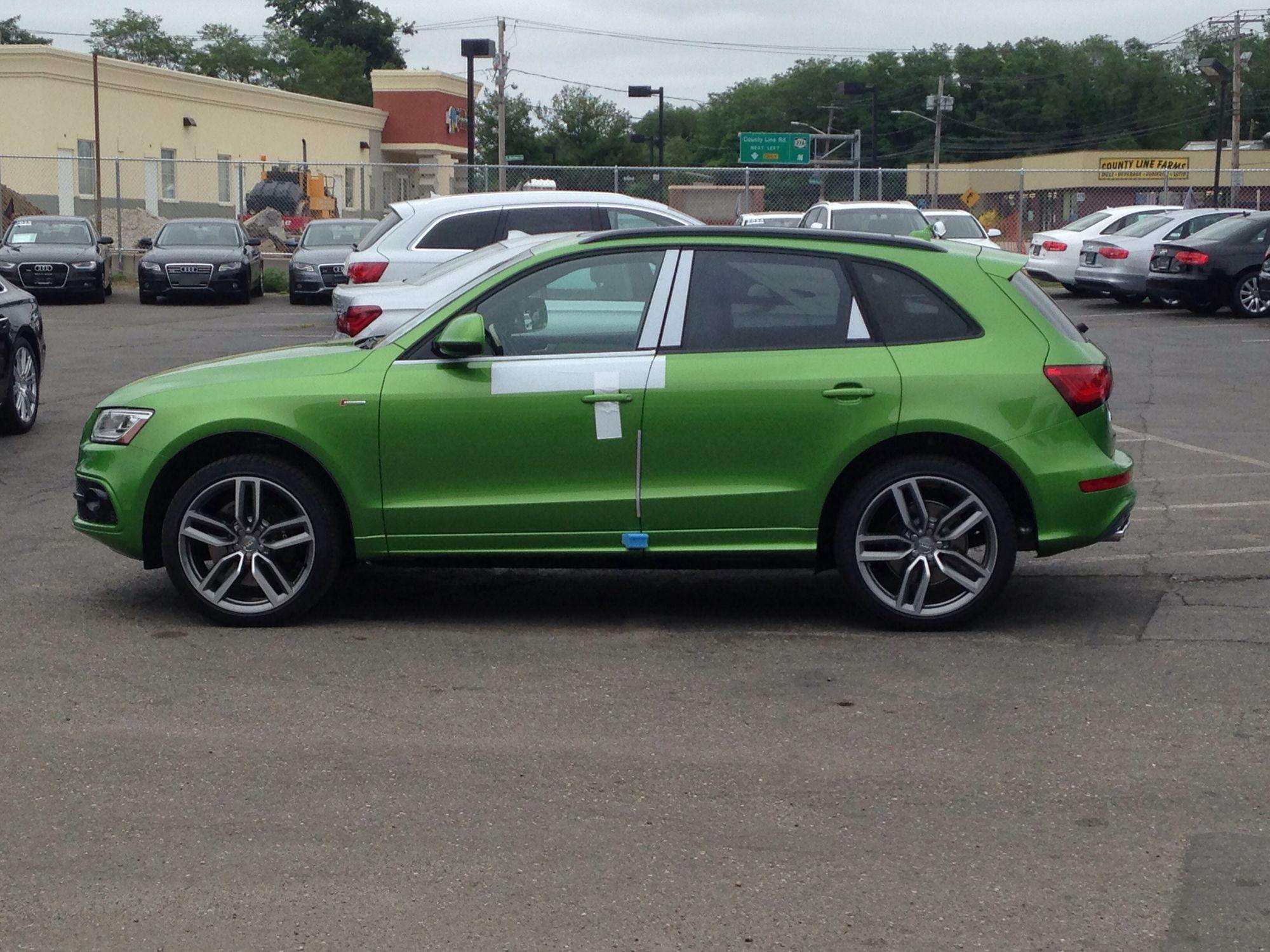 Vwvortex Com 2015 Audi Exlusive Sq5 Th3 Hulk Build