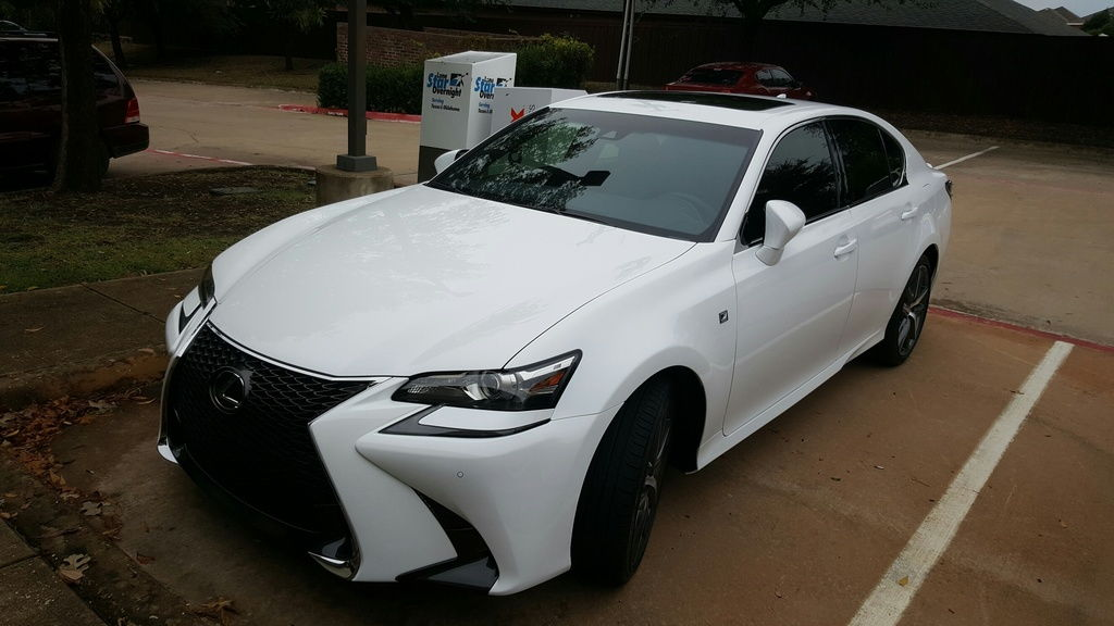 new ride 2016 gs 350 f sport club lexus forums. Black Bedroom Furniture Sets. Home Design Ideas