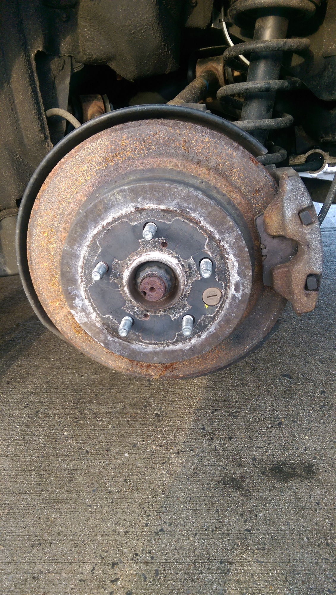 Used Lexus Gs 350 >> GS 350 07 rear brake rotor rust... - Club Lexus Forums