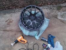 New wheels on my night drive Verde v44 19x9.5 +20mm