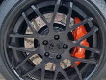 After with the calipers painted