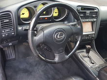 Black wood interior