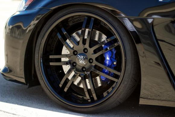 AZA Forged 3 Piece - the only way to go on a Lexus