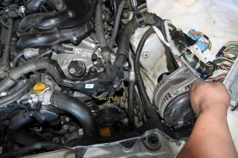 Service manual How To Remove Alternator On A 1997 Lexus