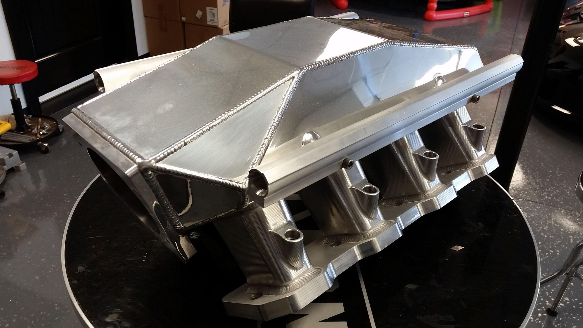 New Custom Ls3 Sheet Metal Intake Shaun S Custom Alloy
