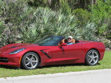 2014 Convertible Crystal Red Tintcoat