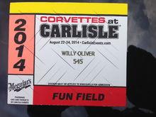 Corvette's of Carlisle 2014