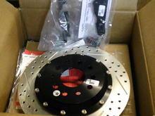 Rear 13 inch rotors