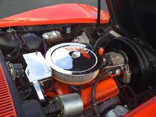 300 HP original engine.  Perfect....even the smog pump works.