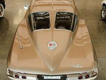 The classic view of a 1963 Corvette Split Window Coupe.