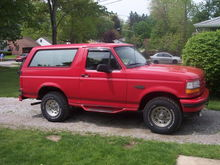 95 Ford Bronco