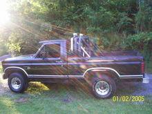 my 1981 f 150 4x4