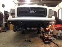 Bumper installed.