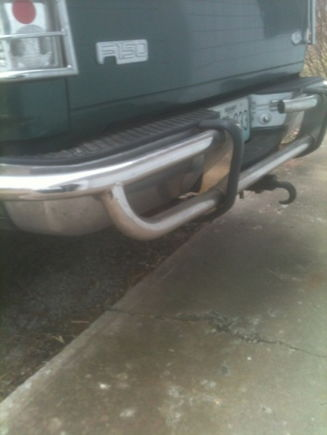 Rear Predator bar