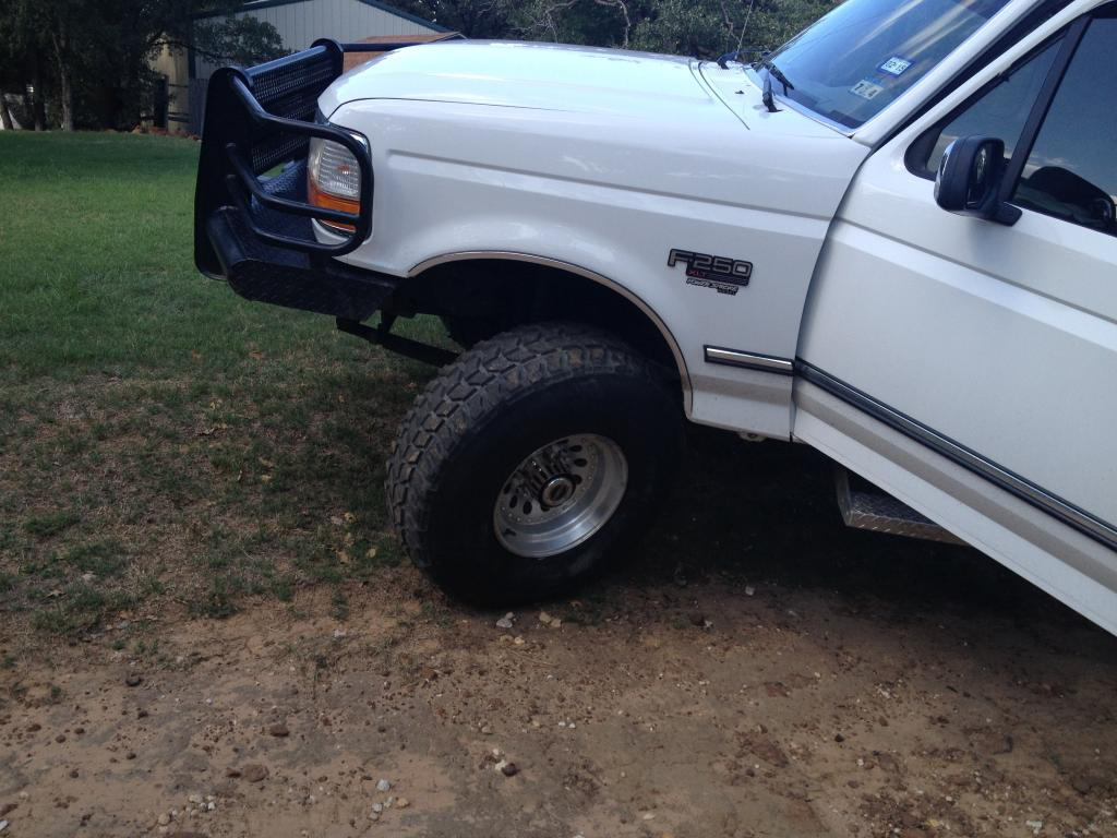 92 97 f350 2wd widest tire without rubbing ford truck enthusiasts forums
