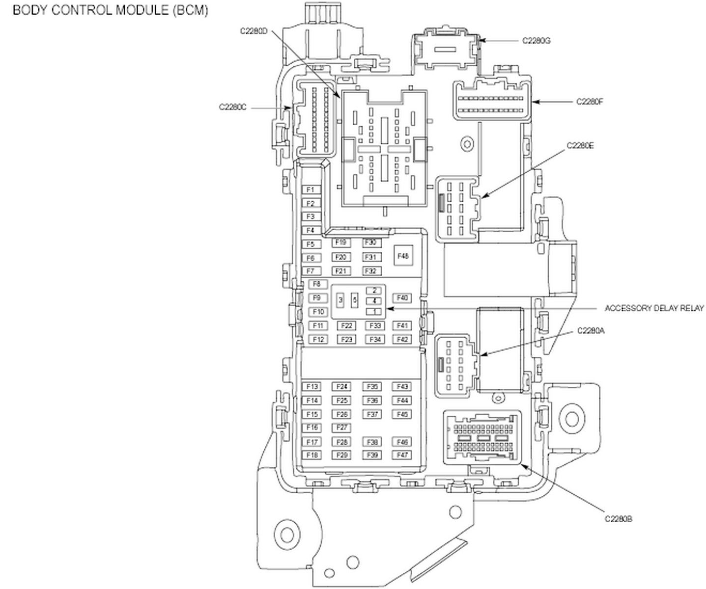 2012 ford body control module wiring diagram   44 wiring diagram images