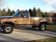 Brown 1983 F250