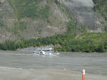 A river boat out of Dawson City......