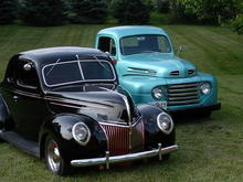 1939 Deluxe Coupe & 1950 F1