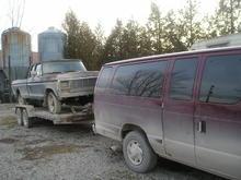 Feb 8  2012 Barney hauling.