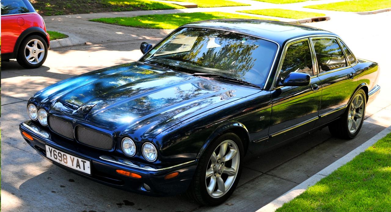 fs midwest 8000 2003 jaguar xjr sapphire blue. Black Bedroom Furniture Sets. Home Design Ideas