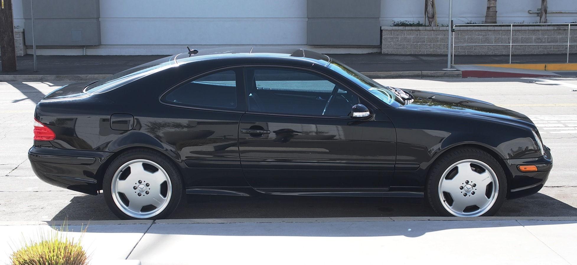2001 Mercedes Benz Clk 55 Amg Coupe Black California