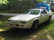 1984 Chevrolet Camaro Sport Coupe Special Olympic Edition