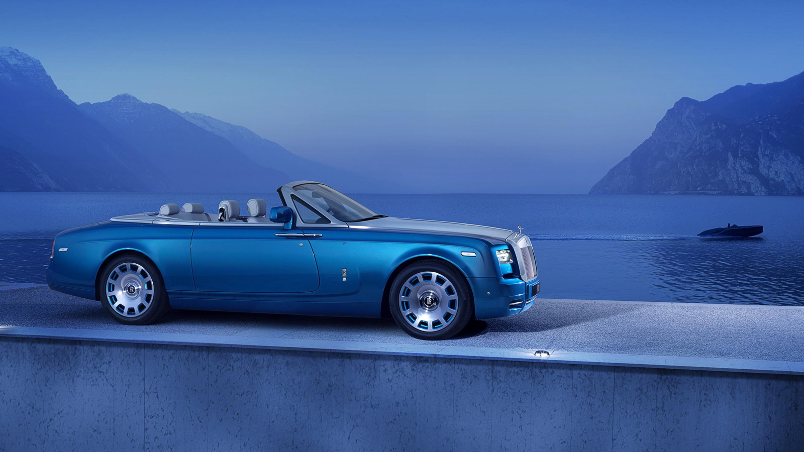 2014劳斯莱斯幻影Drophead Coupe Waterspeed系列