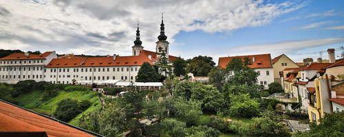 Vista del Monasterio de Strahov del que formamos parte.