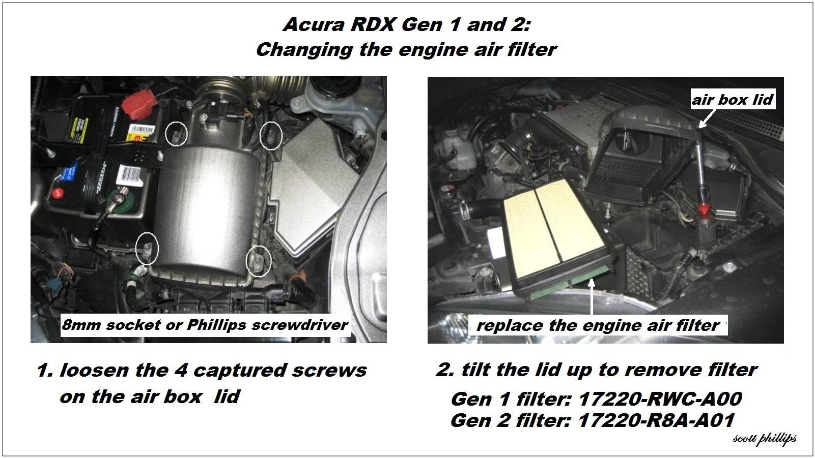 Acura Rdx Engine Noise Diagnostic Guide Acurazine 2007 Diagram Mdx Tl K23 Turbo J35 V6 Sound Problem Issue Diagnose