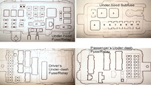 acura mdx: fuse box diagram