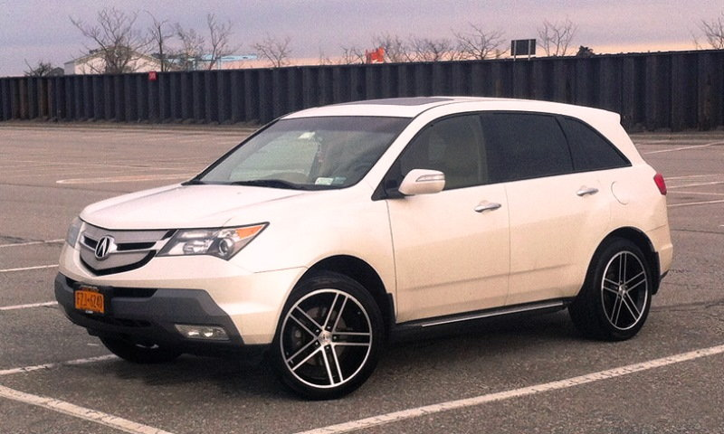 Acura MDX Tire Reviews Acurazine - Acura mdx tires