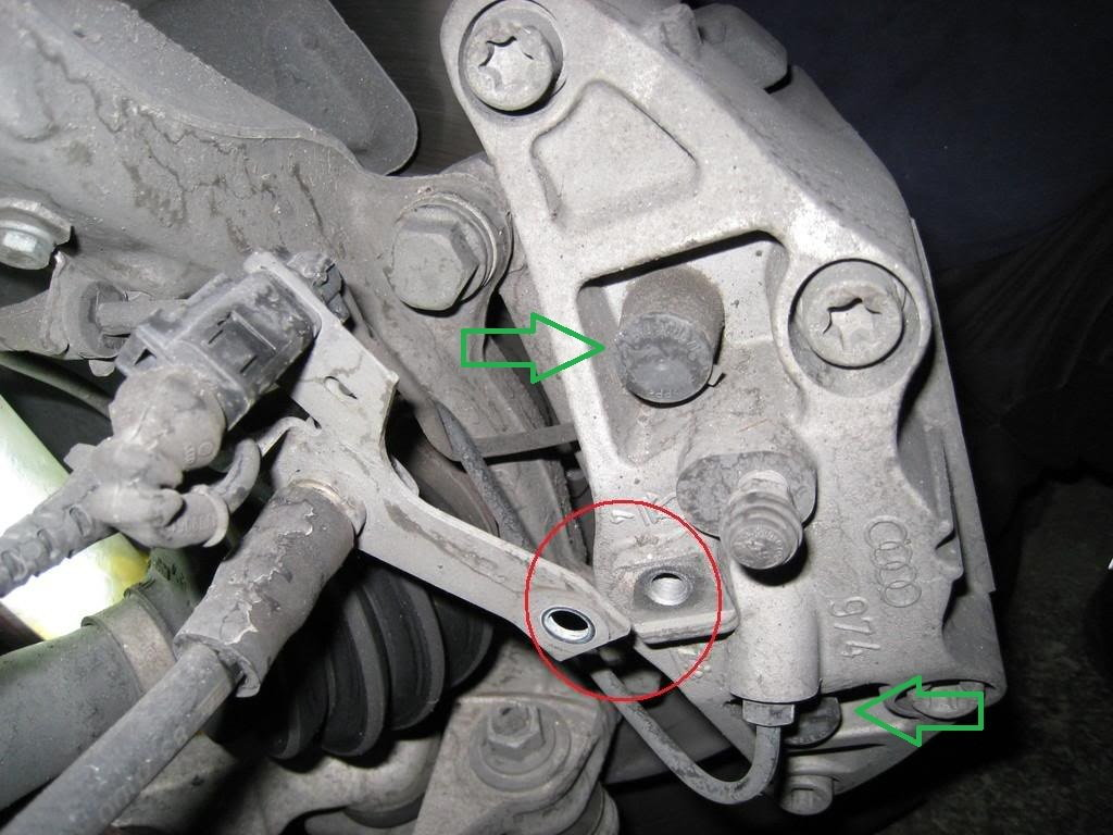 Audi A4 B7and A4 B8 How To Replace Brake Pads Calipers