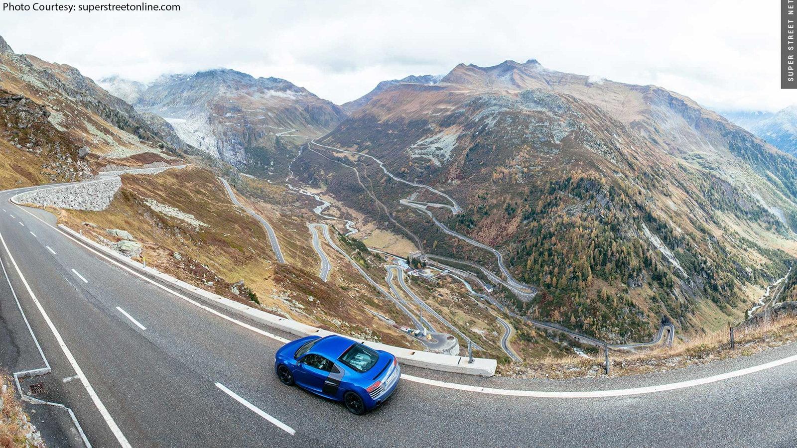 Furka Pass/Swiss Alps
