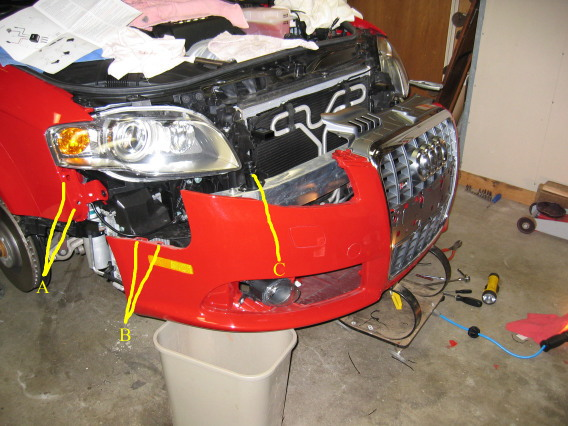 Audi A4 B7 How To Install Bi Xenon E Code Headlights