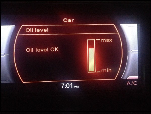 2011 Audi A4 Oil Consumption Issue