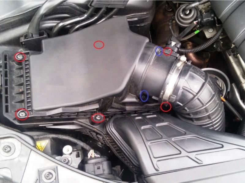 audi a4 b8 how to replace air filter audiworld rh audiworld com 2004 Audi RS6 Plus 2004 Audi RS6 Plus
