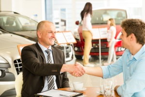 dealership handshake