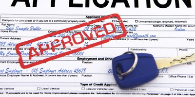 approved auto loan application