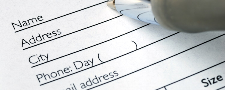 Why Does an Auto Lender Need My Address?