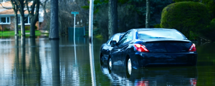 Look Out for Flood Damaged Cars