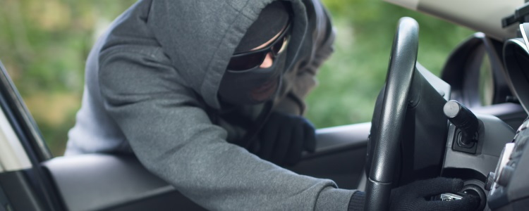 Improved Technology Leading to Lower Car Thefts - Banner