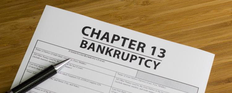 Capítulo 13 de bancarrota y préstamos para auto