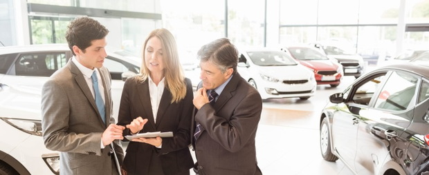 car dealership salespeople