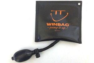 Winbag on table