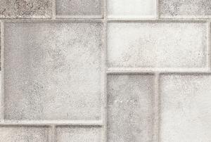 Grey and white ceramic tiles