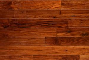 A close-up of wood flooring.